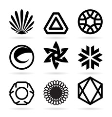 Collection of abstract symbols (21)