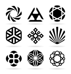 Collection of abstract symbols (20)