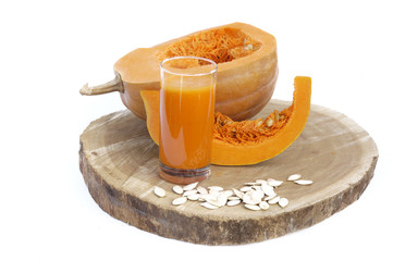 Pumpkin vegetable juice