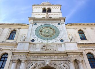 Clock Tower in the Piazza dei Signori in Padua