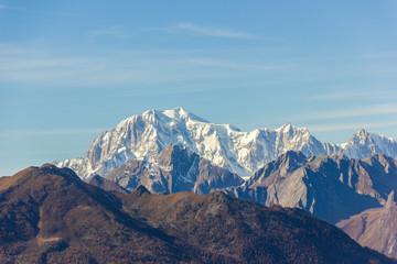 Catena del Monte Bianco in Valle d'Aosta