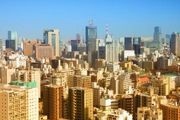Tokyo, Japan. Filtered color tone.