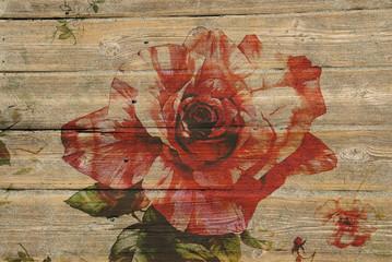 flowers wood