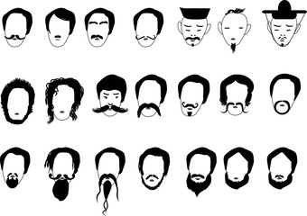 twenty one black men hairs collection