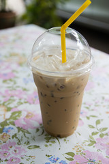 iced coffee cappuccino