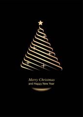 Открытка с Рождеством и Новым годом