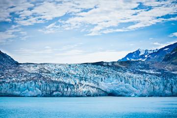 Glacier Bay in Mountains in Alaska, United States