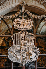 Schwarzenberg Coat-of-arms Made With Bones In Sedlec Ossuary (Ko