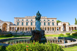 Sir Frederick Adam and the Palace of St. Michael. Corfu, Greece. poster
