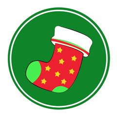 christmas sock on Chistmas Day