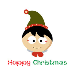 little Santa Claus on Chistmas Day