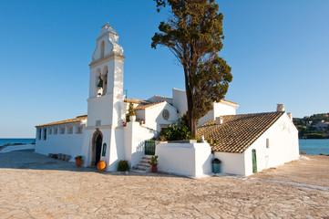 Vlacheraina Orthodox monastery. Corfu, Greece.