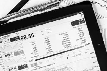 Work in stock exchange