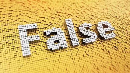 Pixelated False