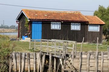 cabane de pêcheur,marennes, la cayenne