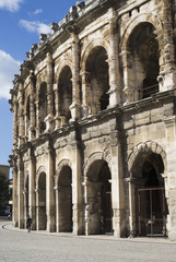 Roman amphitheatre of Nîmes, France