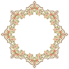 circular islamic background two