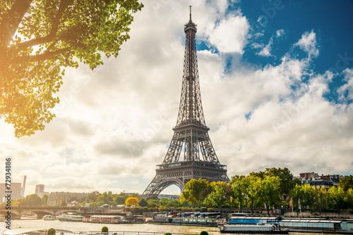 canvas print picture Paris