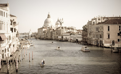 Grand Canal vintage, Venice