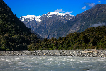 River & Mountains