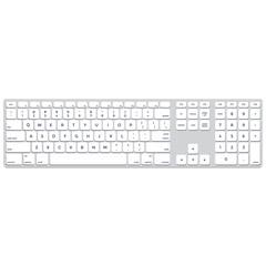 vector long solid colors flat design aluminium computer keyboard