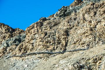 Bergweg zur Hörnlihütte, ob Schwarzsee, Zermatt