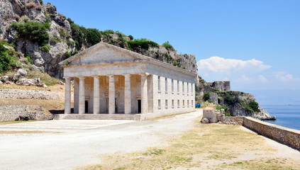 Old Palace, the island of Corfu, Greece, Europe