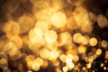 classic gold color bokeh glitter background