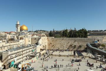 The Wailing wall - Jerusalem Israel
