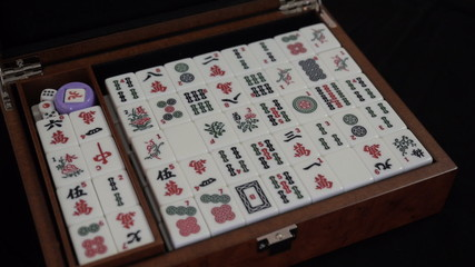 Mahjong is a traditional Chinese game of chance.