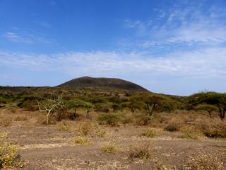 Leopardenberg Panorama Gorofani Mangola Tansania Afrika