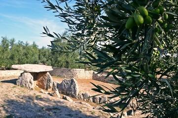 Dolmen della Chianca, Bisceglie, Puglia, Italia