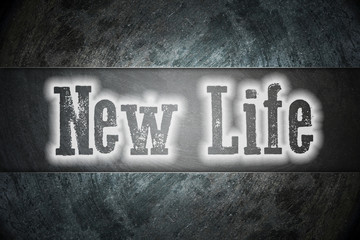 New Life Concept
