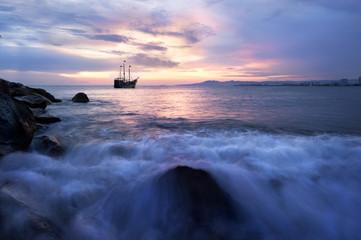 Pirate Ship Ocean Fantasy