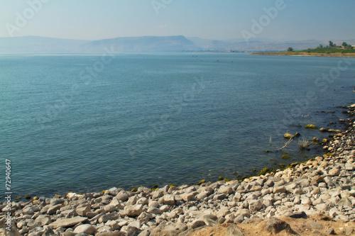 Fotobehang Midden Oosten View of Galiliee sea / Kinneret