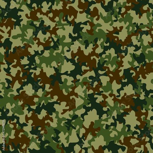 Tuinposter Kunstmatig Seamless camouflage pattern