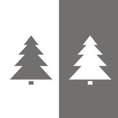 Icono árbol de Navidad