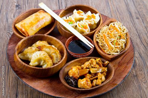 canvas print picture cibo cinese