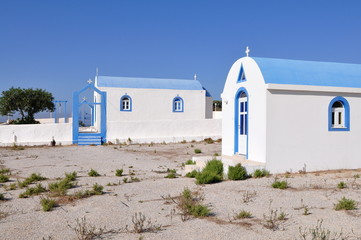 churches in Kefalos part od island Kos,Greece