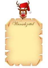 Rudolph Wunschzettel