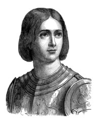 Joan of Arc - Portrait - Jeanne d'Arc - 15th century