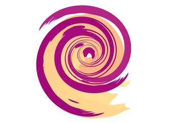 spirale colorata