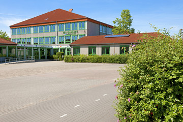 Das Schulzentrum, die IGS in Garbsen