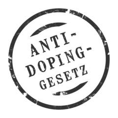 sk201 - StempelGrafik Rund - anti-doping-gesetz - g2508