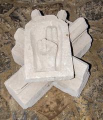 Keystone in a romanian church