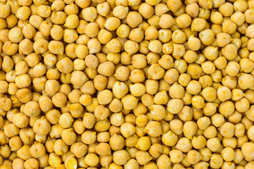 Chickpea seeds background or texture raw food