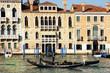 Venedig, Canal Grande mit Palästen und Gondeln