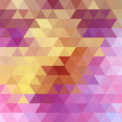 bright abstract pattern triangles