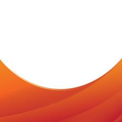Pomarańczowe paski ramka