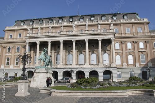Papiers peints Europe de l Est Budapest - Palais de Budavár